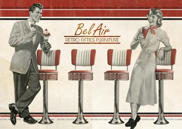 Diner Barhocker Bel Air