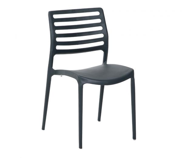 Stuhl Modell LOUISE schwarz