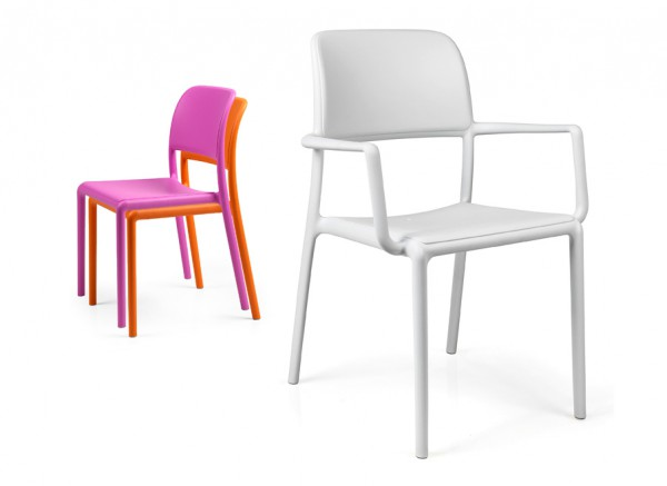 Kunststoff stuhl modell riva kunststoff st hle outdoor - Outdoor stuhle stapelbar ...