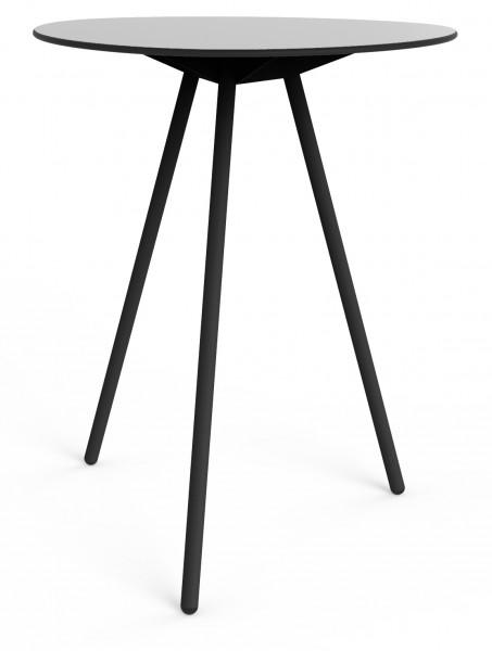 Stehtisch High a-lowha grau schwarz