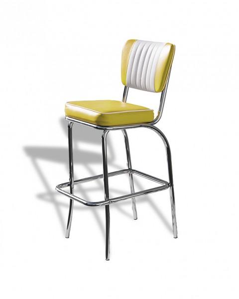 Diner-Barhocker BS-40 gelb