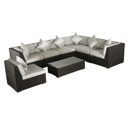 lounge set versaille lounge set terrassen m bel gastroline24. Black Bedroom Furniture Sets. Home Design Ideas