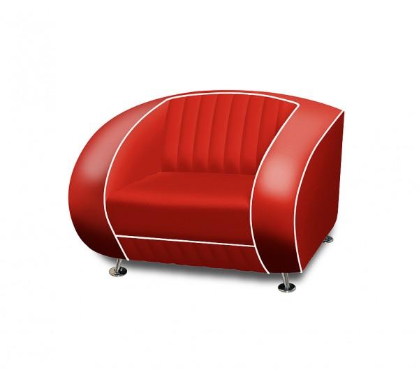 Bel Air Diner Sessel SF-01 rot