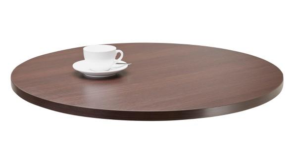 Tischplatte Melamin rund
