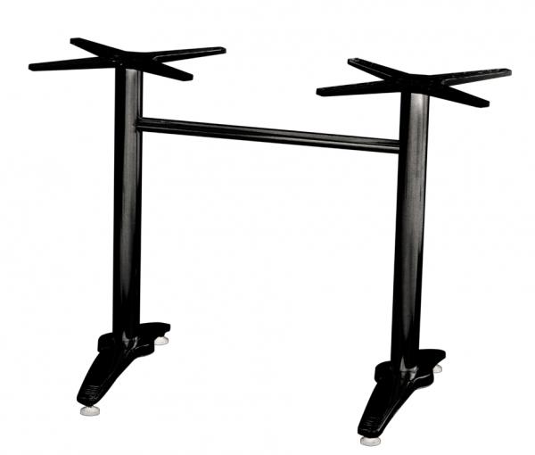 Tischgestell Roma 2 schwarz