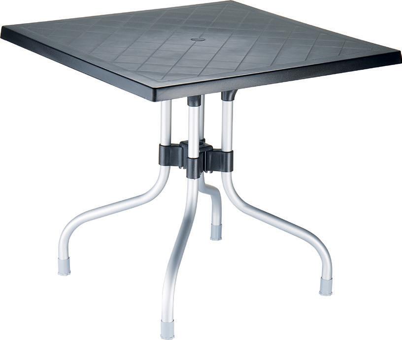 kunststoff tisch modell forza tische komplett tische outdoor terrassen m bel gastroline24. Black Bedroom Furniture Sets. Home Design Ideas