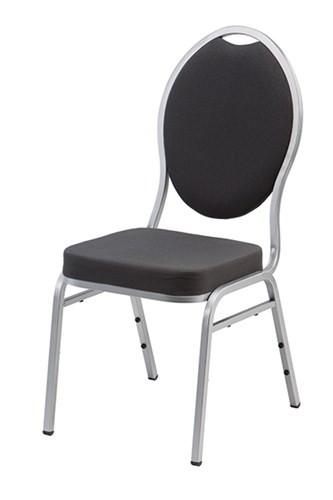 Bankiett-Stuhl Diamond schwarz